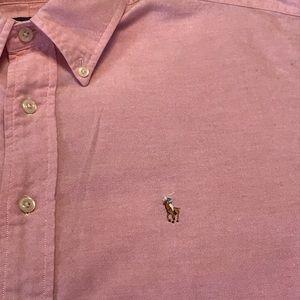 Ralph Lauren Pink Oxford Shirt EUC